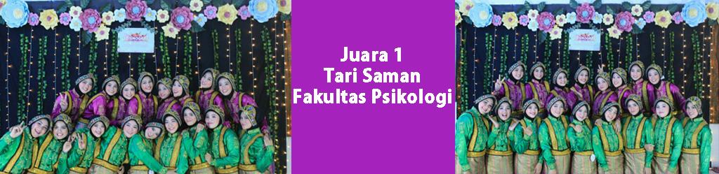Tari Saman Psikologi Juara 1