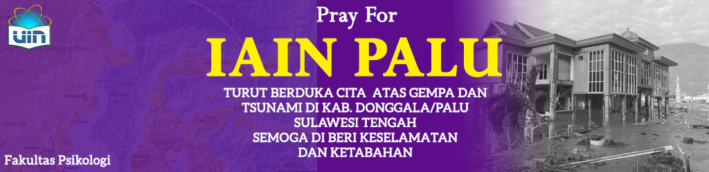 Pray For IAIN PALU