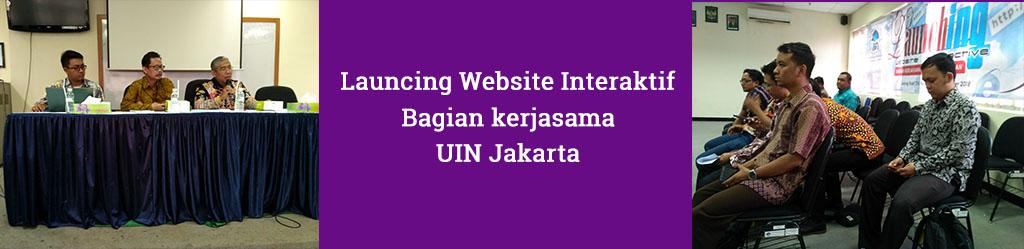Bagian Kerjasama Launching Website Interaktif
